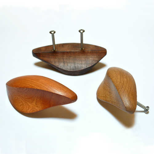 Crafted Wood Door and Furniture Knobs