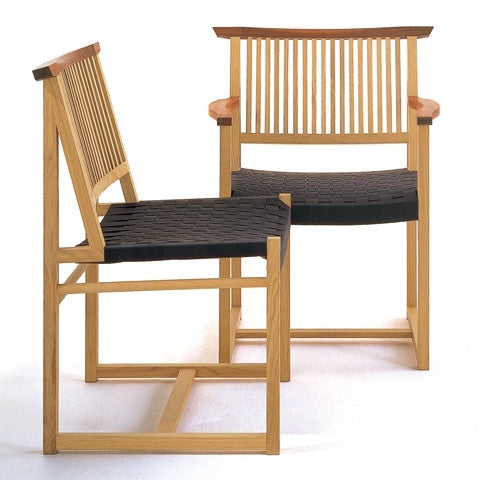 TWW T-Back Dining Arm Chair