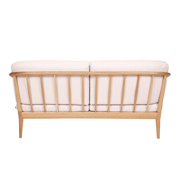 White Wood Sofa