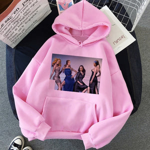 New Mona Lisa Funny Harajuku Aesthetic Hoodies Women Grunge Cartoon 90s Vintage Sweatshirts Fashion Hip Hop Ullzang Hoody Female