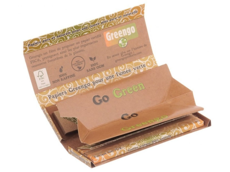 "feuilles GREENGO KING SIZE SLIM ""ULTIMATE 3 EN 1"""