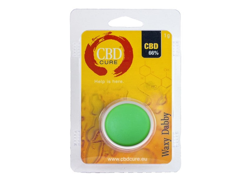 Wax CBD 66% CBD cure : 1g