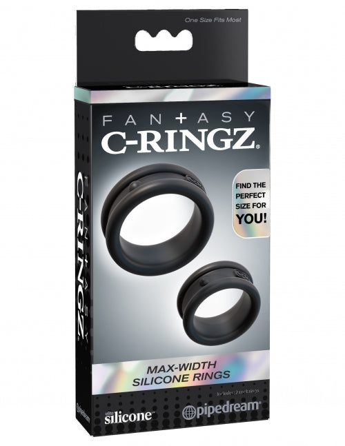 C-Ringz Max-Width Silicone Rings