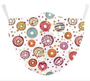 Donuts Fun Face Mask
