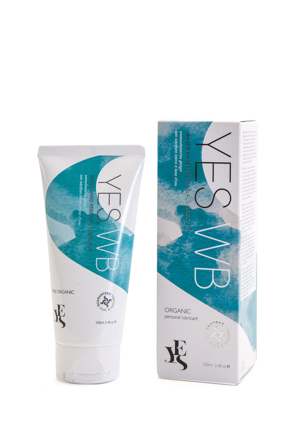 Yes Water Based Organic  Lubricant (100ml)