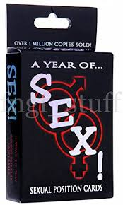 Year of Sex Sexual Position Cards