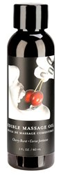 Edible Massage Oil Cherry 2oz (60ml)
