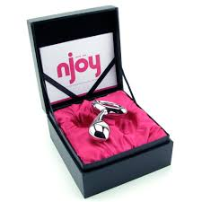 Njoy Pure Stainless Steel Anal Plugs