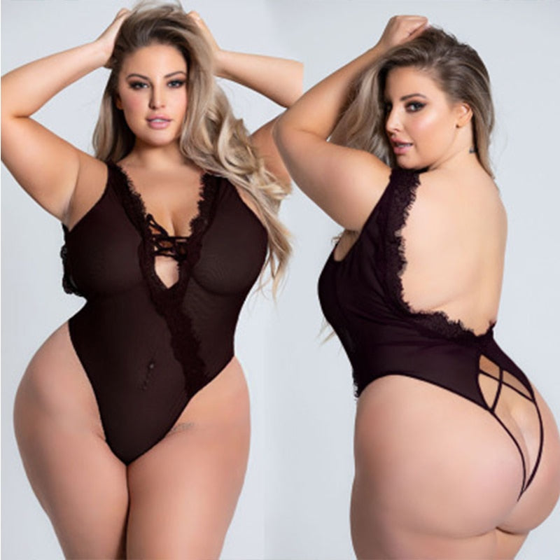Plus Size Hot Lingerie