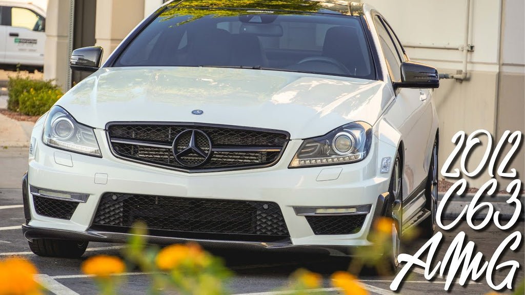 2012 Mercedes-Benz C63 AMG Paint Correction, PPF, Ceramic Coating and LOTS more!