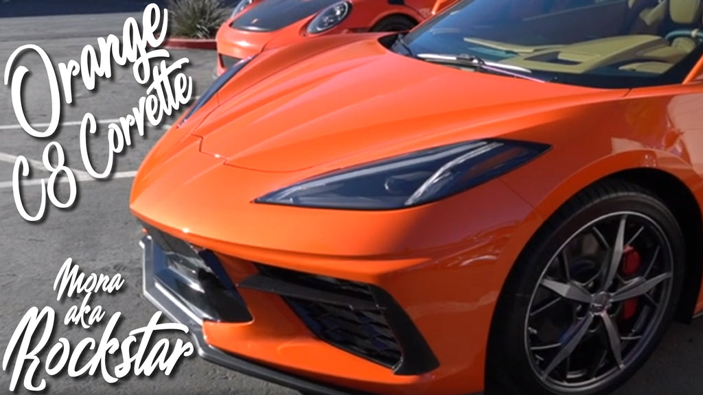 Orange 2020 C8 Corvette Paint Correction, Ceramic Coating, and PPF!!