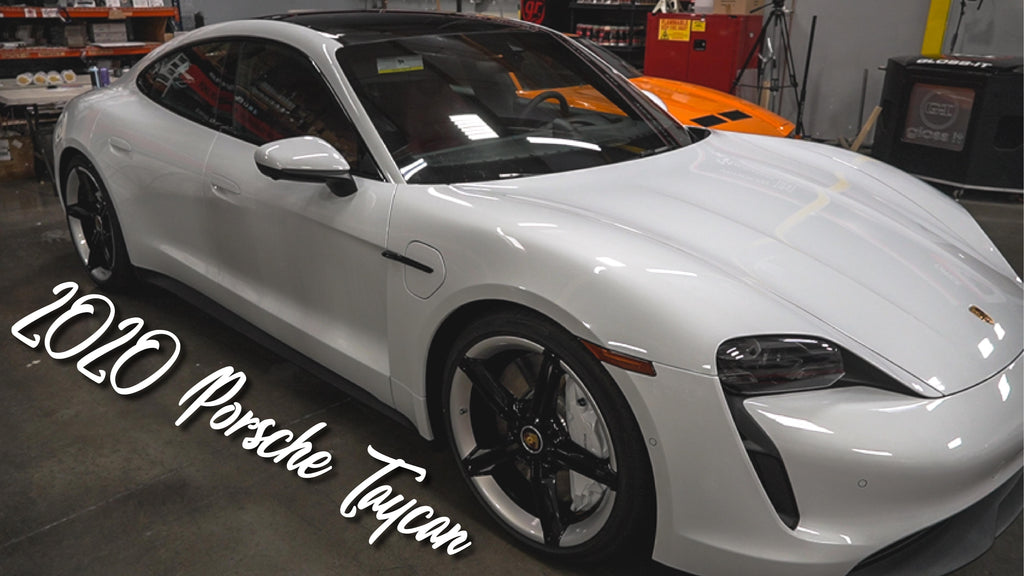 2020 Porsche Taycan Paint Correction, Ceramic Coating, and Paint Protection Film