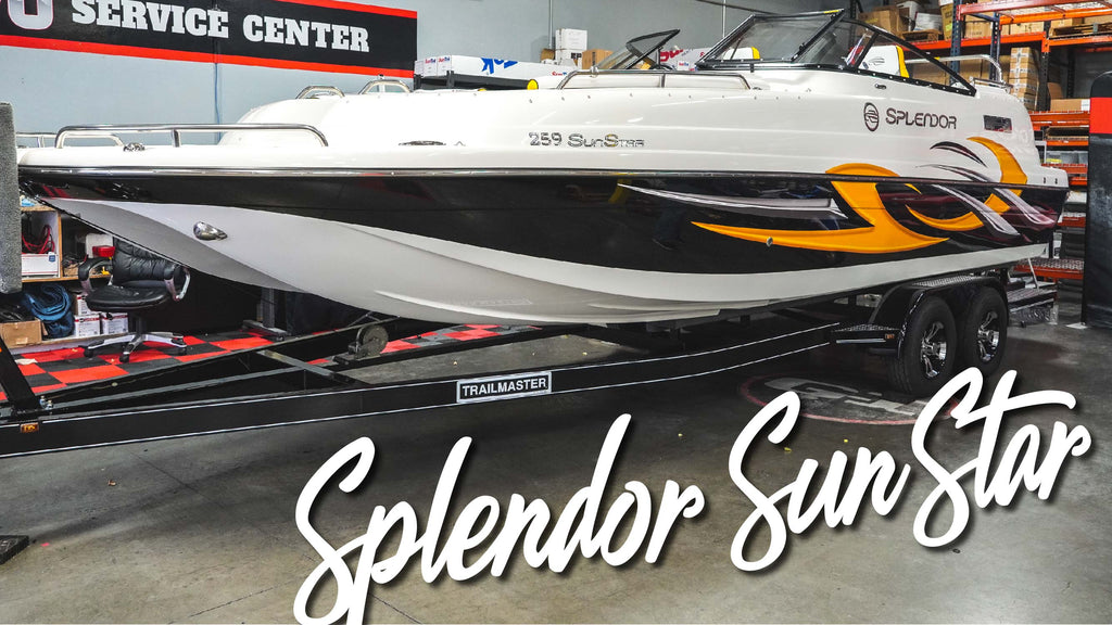 2021 Splendor SunStar Boat Full Paint Correction and Marine Ceramic Coating!!!