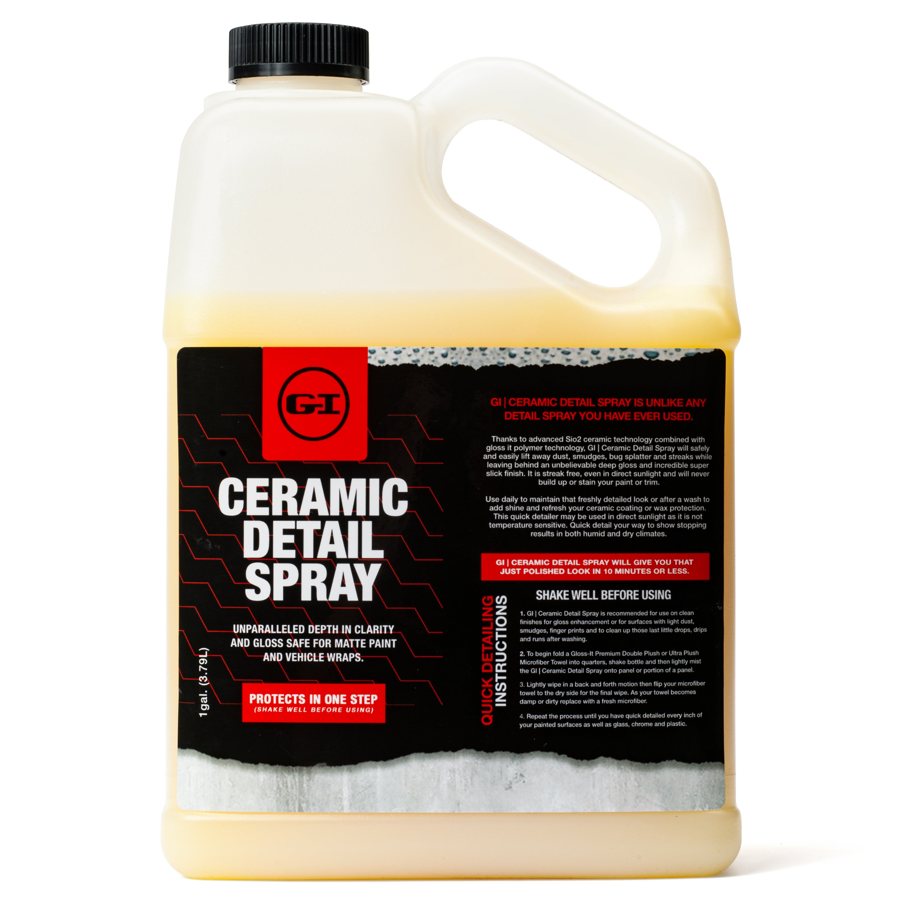 Ceramic Detail Gallon + 5 FREE Microfiber Towels