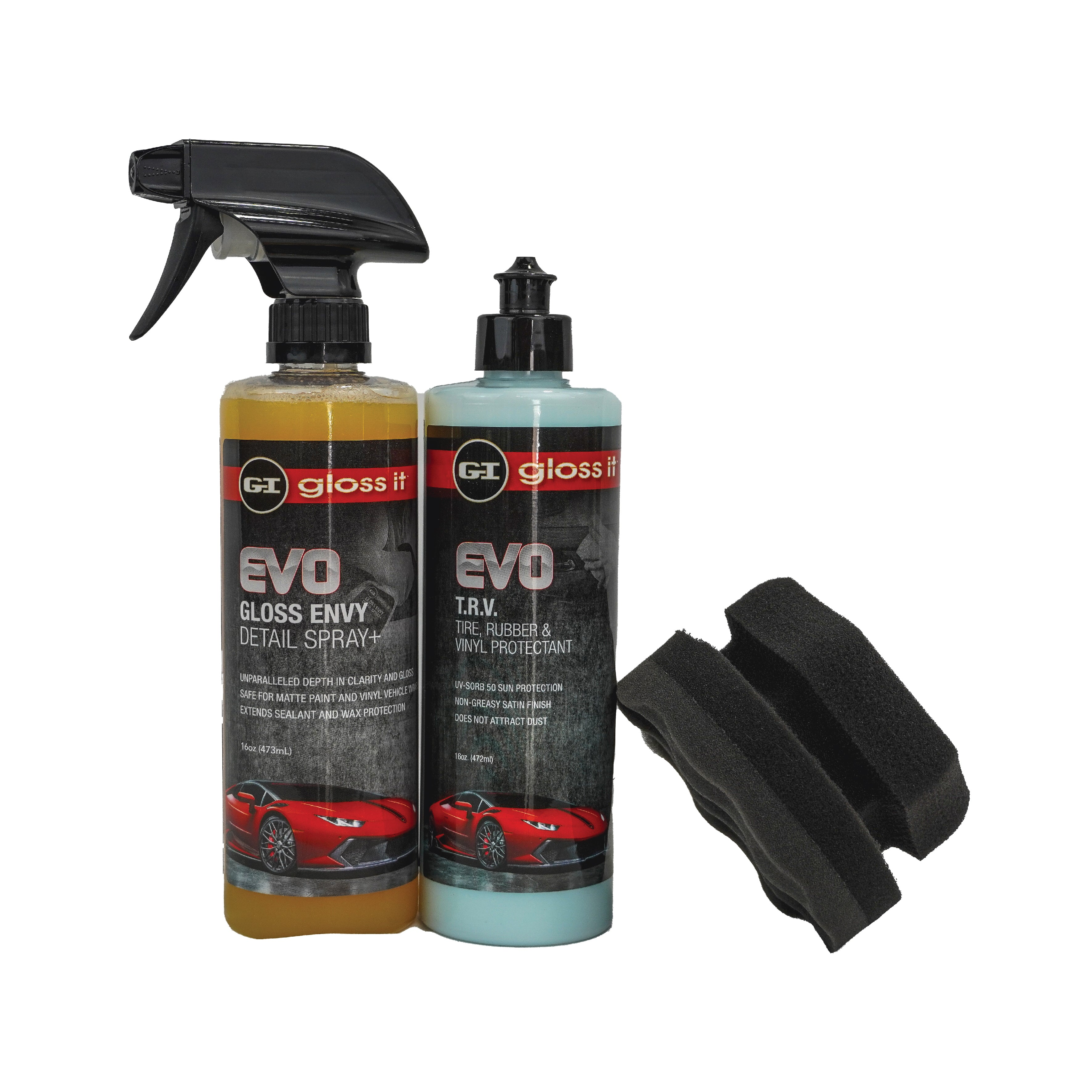 Gloss Envy Detail Spray + FREE T.R.V & Hexi Applicator