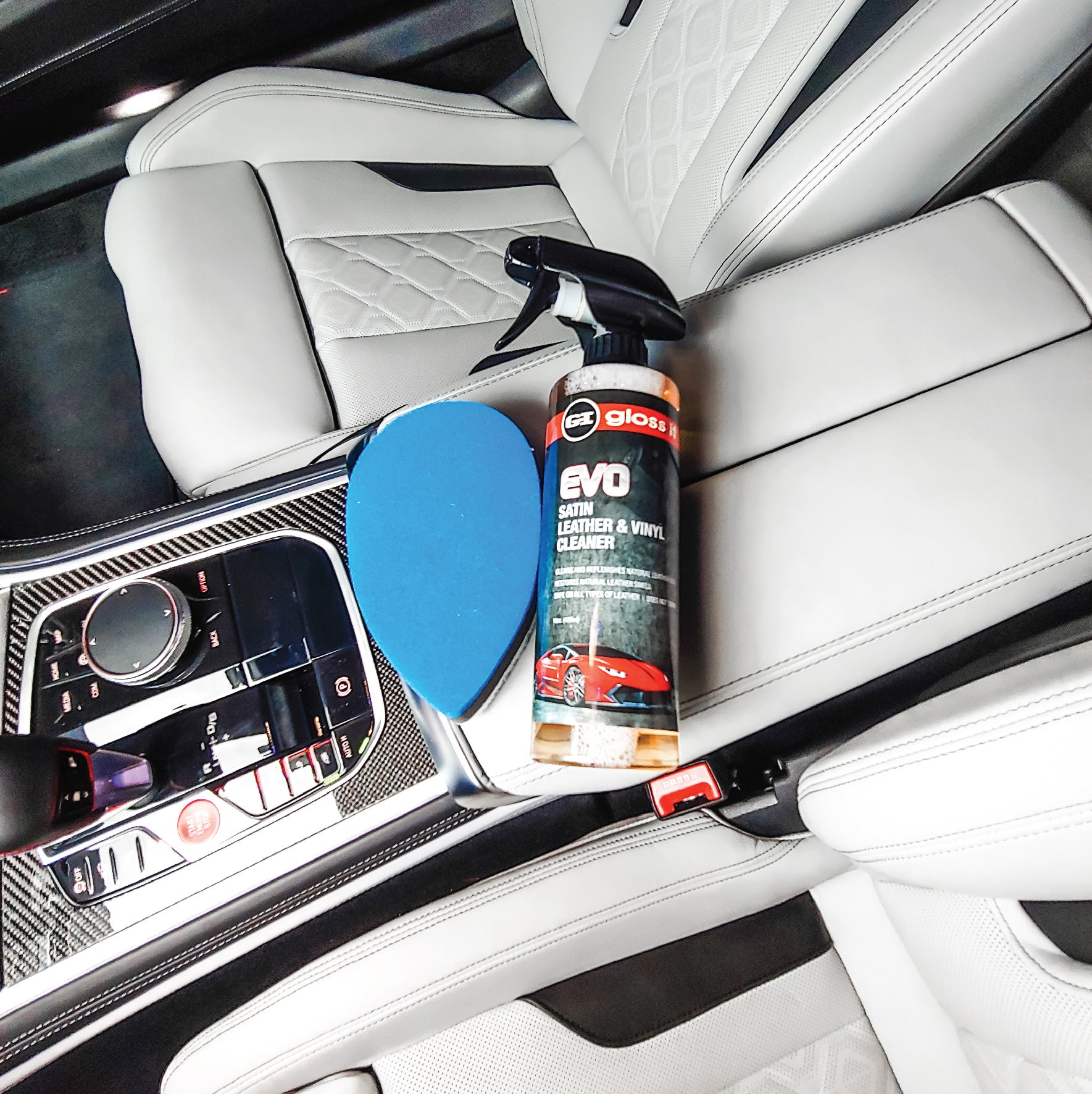 Leather, Satin & Vinyl Cleaner