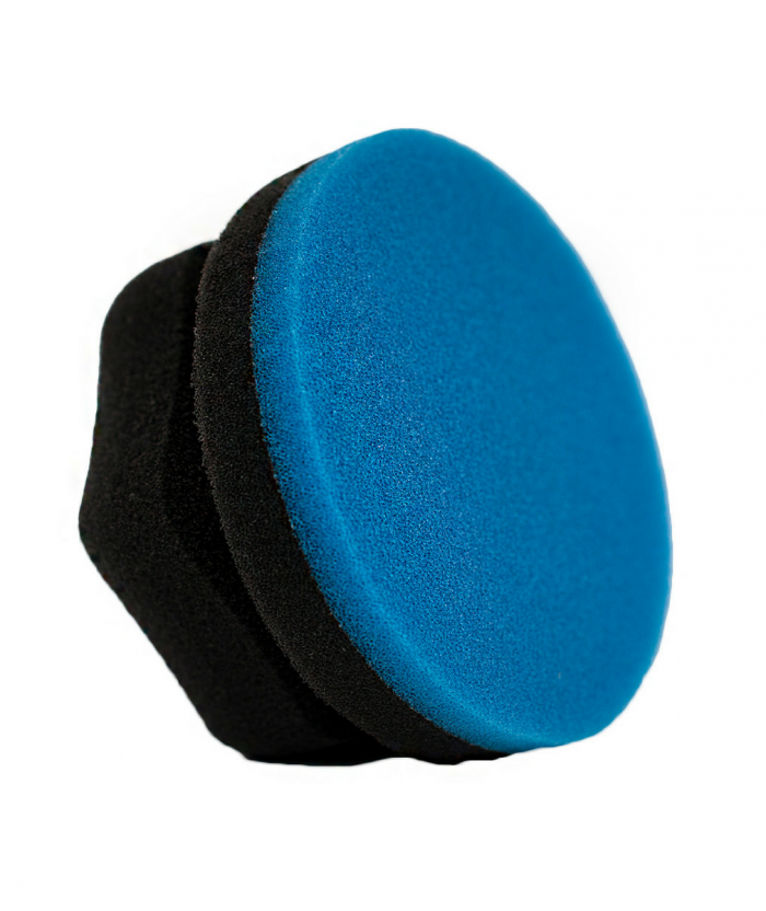 Blue Hexi Grip Wax & Final Finishing Foam Applicator