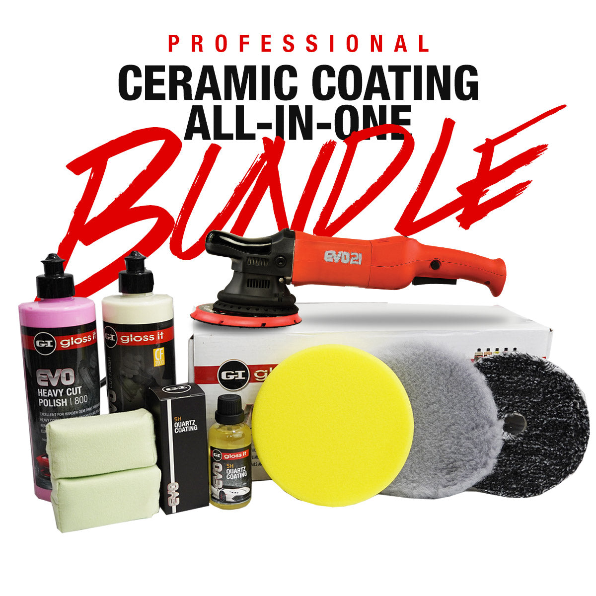 Professional Ceramic Coating All-In-One Bundle