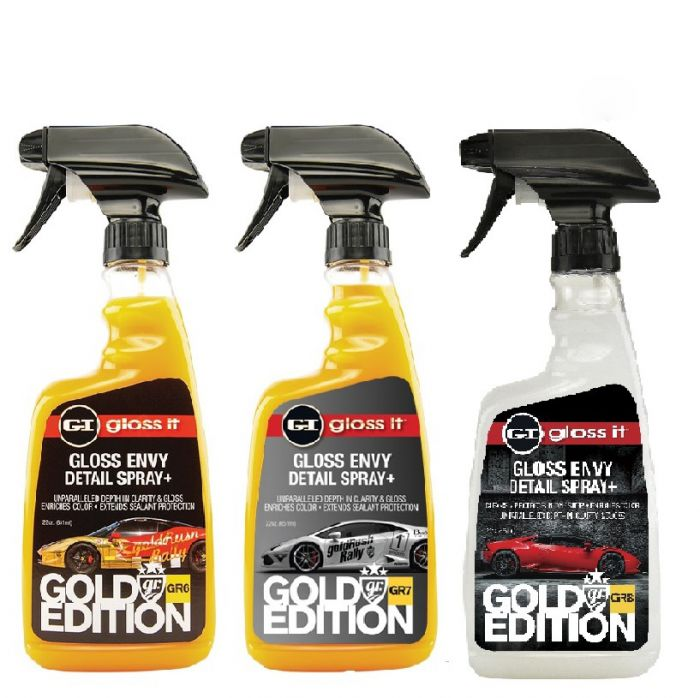 Gloss Envy Detail Spray Plus | Limited Edition GR6/GR7/GR8 Bundle