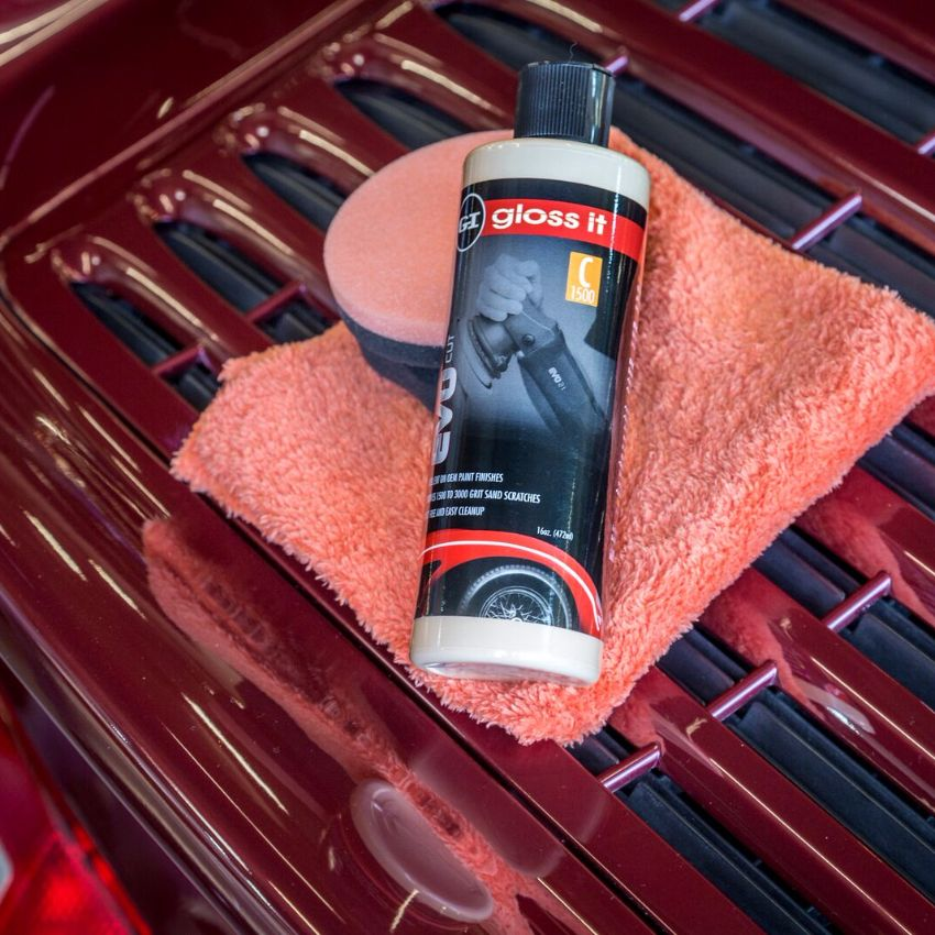 EVO Polishing & Paint Correction Polish System Kit
