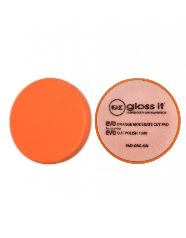 EVO Orange Moderate Cut Foam Pad