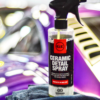 Premium Ceramic Detail Spray + 2 FREE Towels