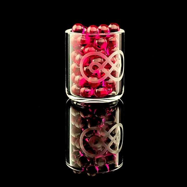 4mm Ruby, Sapphire & Quartz Banger Beads (Terp Pearls) (For E-Rigs)