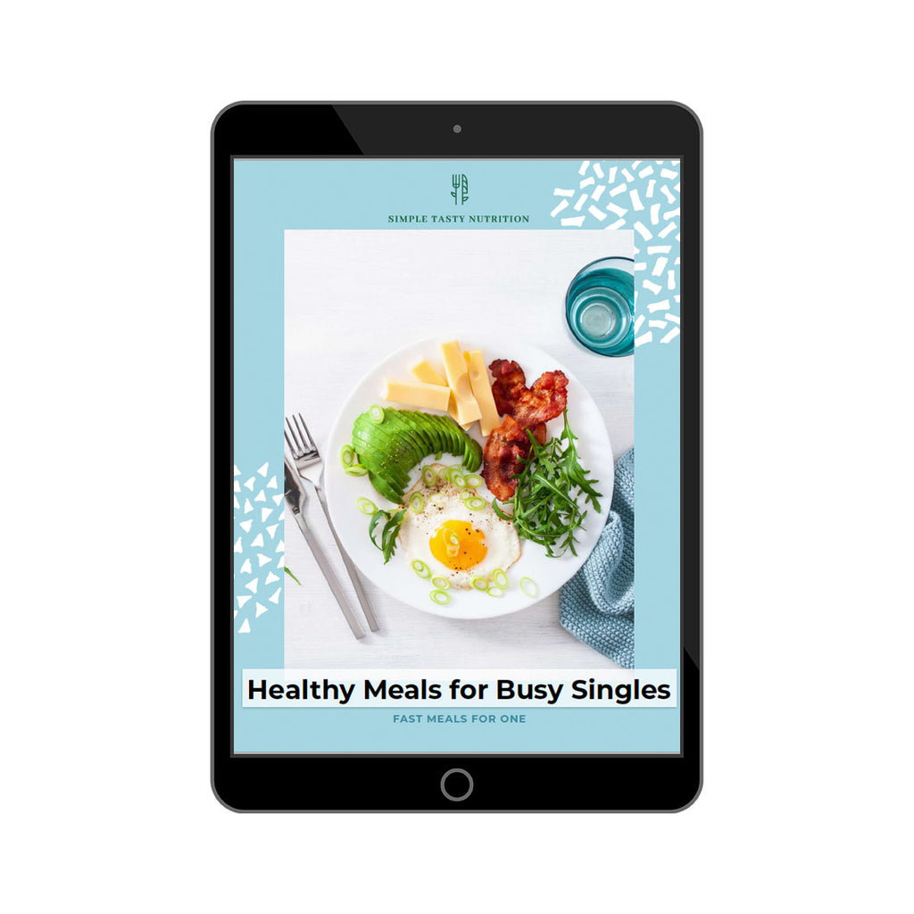 Healthy Meals for Busy Singles Meal Plan
