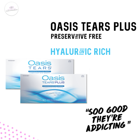 Oasis TEARS PLUS Preservative Free