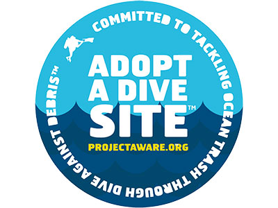Project AWARE Adopt a Dive Site
