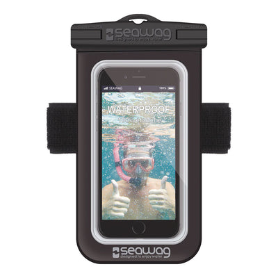 Seawag Waterproof Case w/Armband & Earphone Jack Black