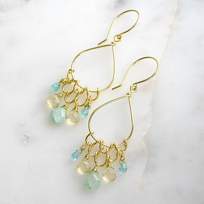 ELD Jewelry Designs Mermaid's Treasure Earrings