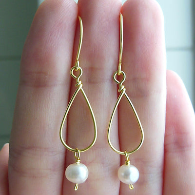 ELD Jewelry Designs Pearl Drop Earrings