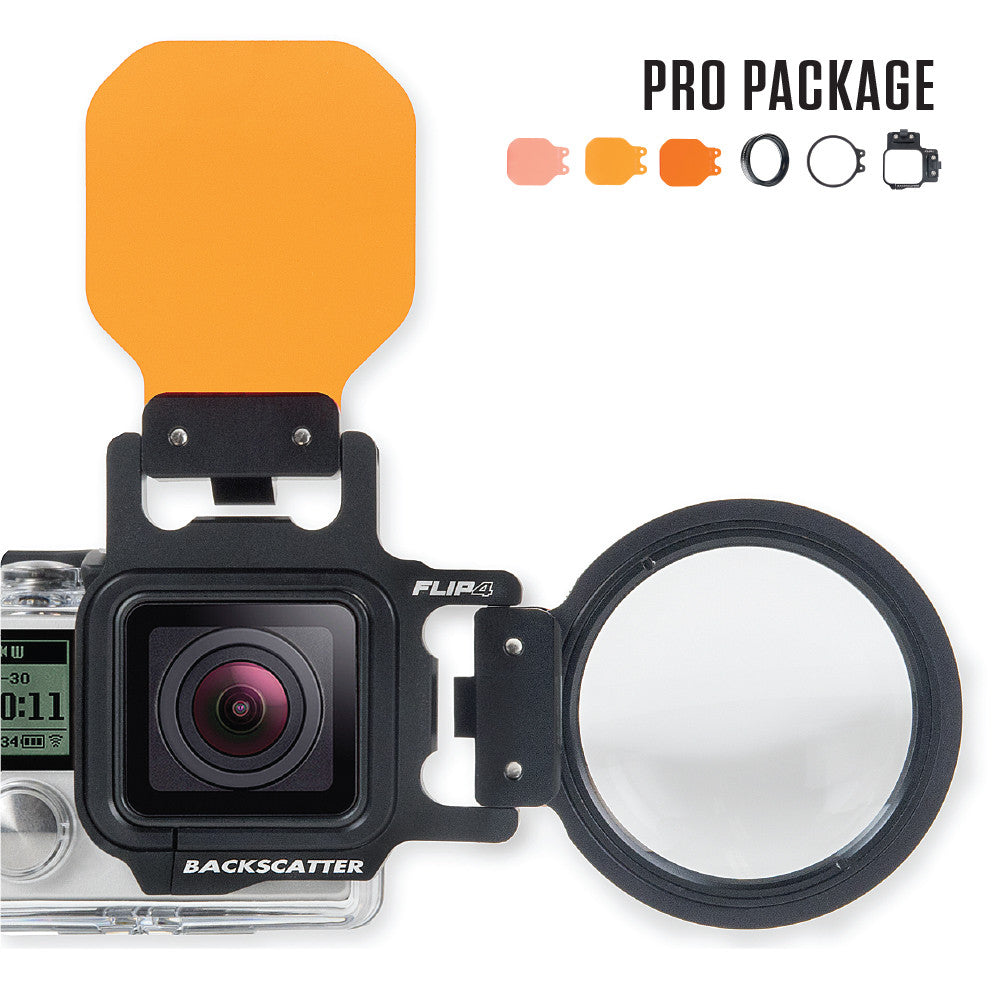 FLIP4 Pro Filter Kit for GoPro Hero 4/3+/3