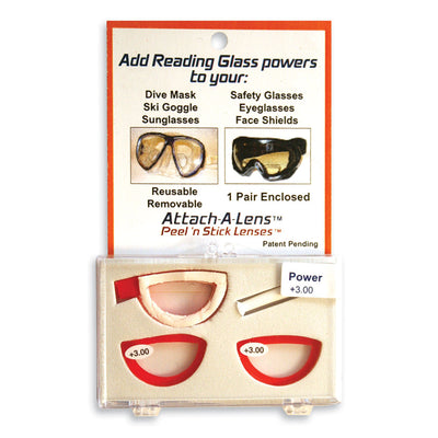 ISC Attach A Lens Corrective Stick On Lenses