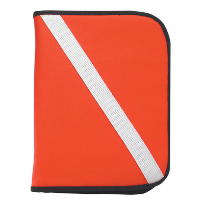 Log Book Binder ISC Red Dive Flag