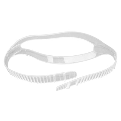 Marine Sports Silicone Mask Strap Clear