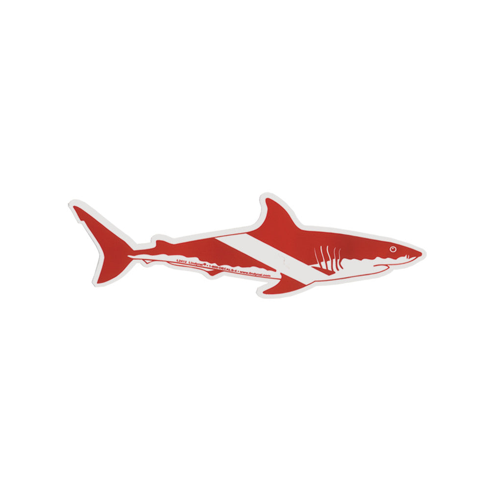 Marine Sports Shark Sticker