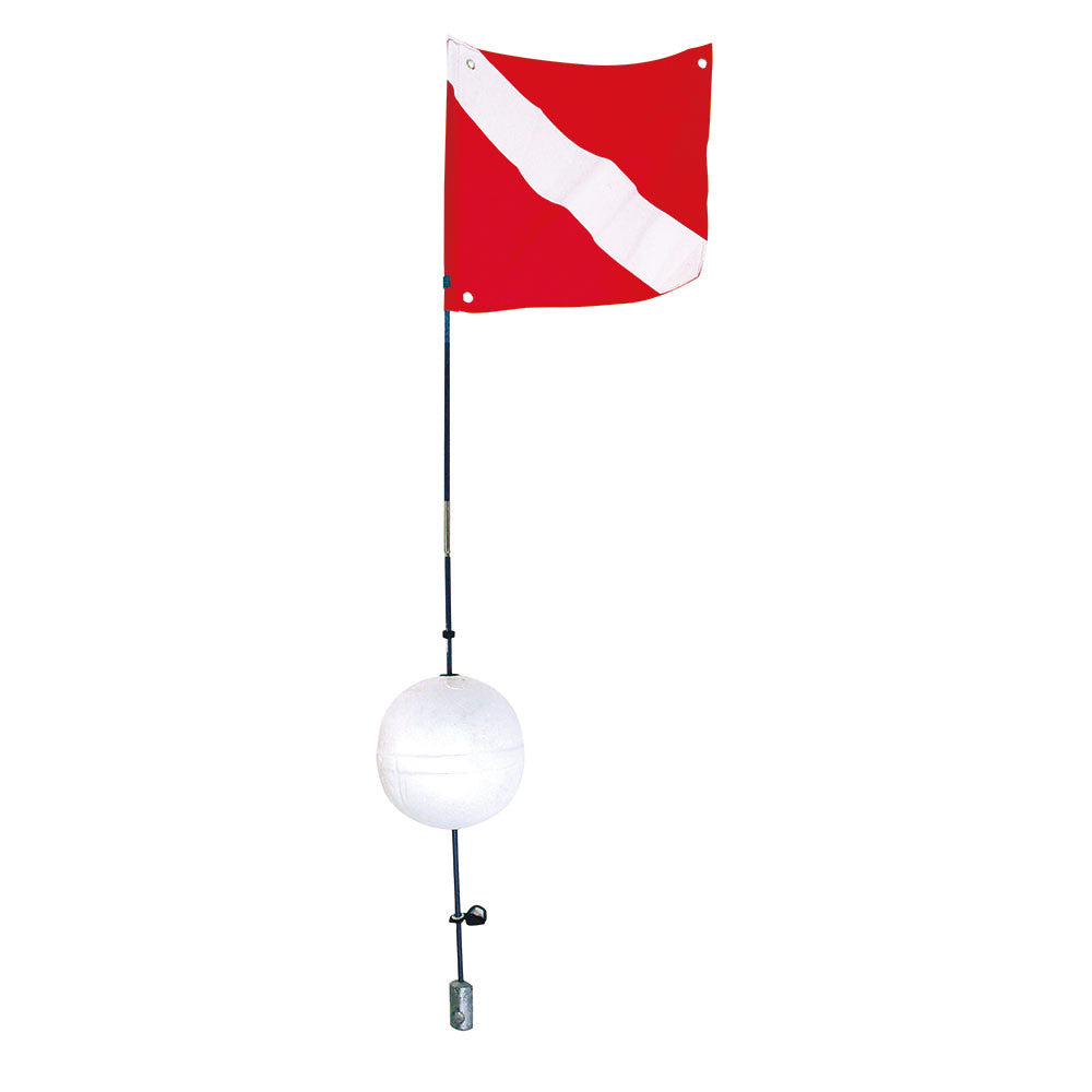 ScubaMax Ball Float Flag Holder