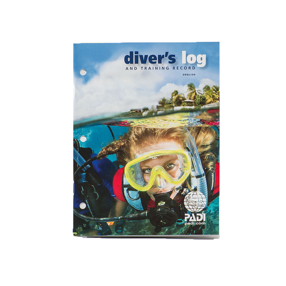 PADI Diver's Logbook & Training Record