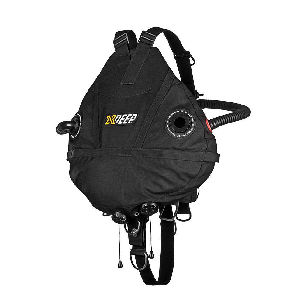 XDeep Stealth 2.0 Rec Redundant Bladder Sidemount System