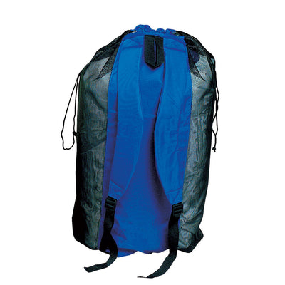 Bag Deep See Heavy Duty Mesh Backpack Blue