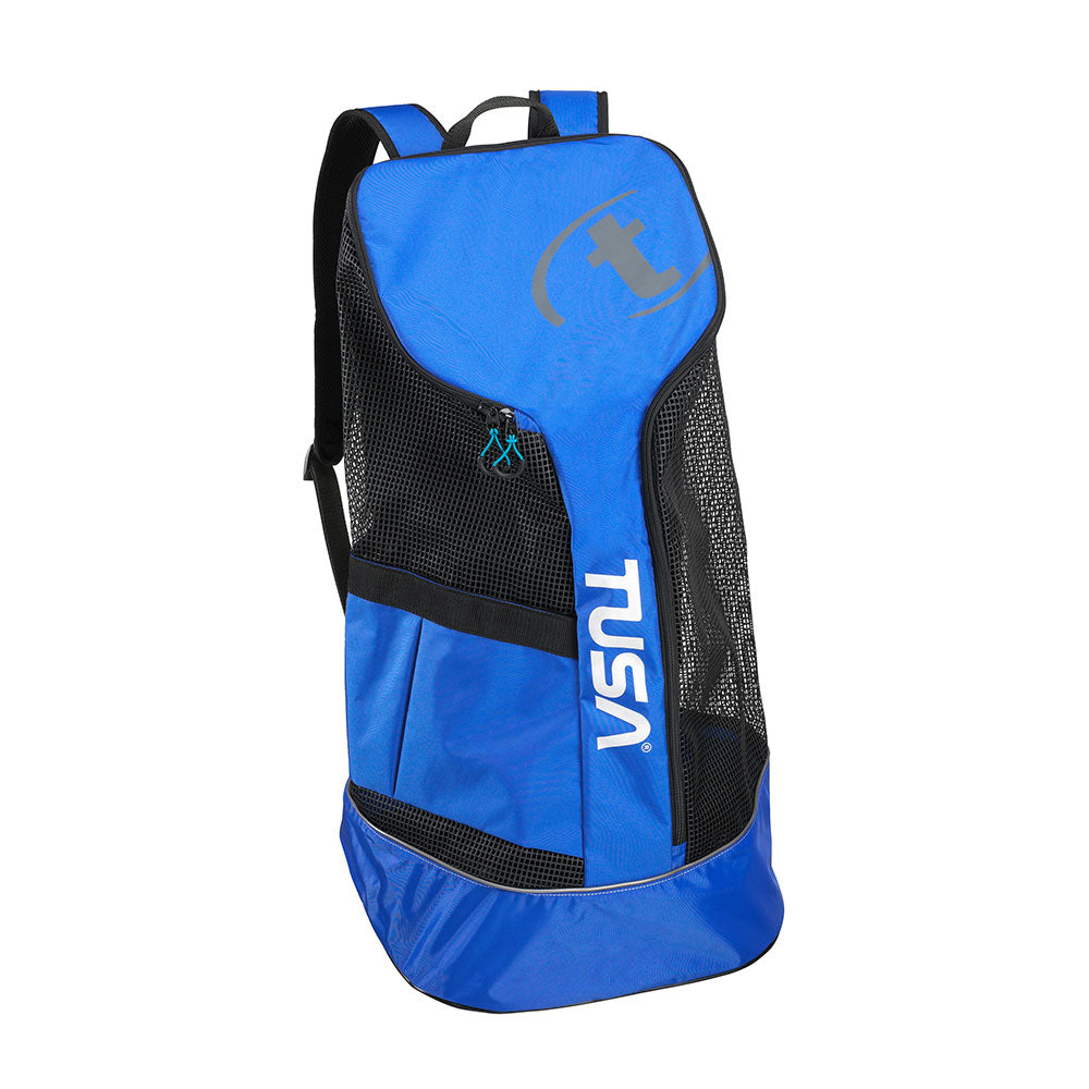 TUSA Mesh Backpack Blue
