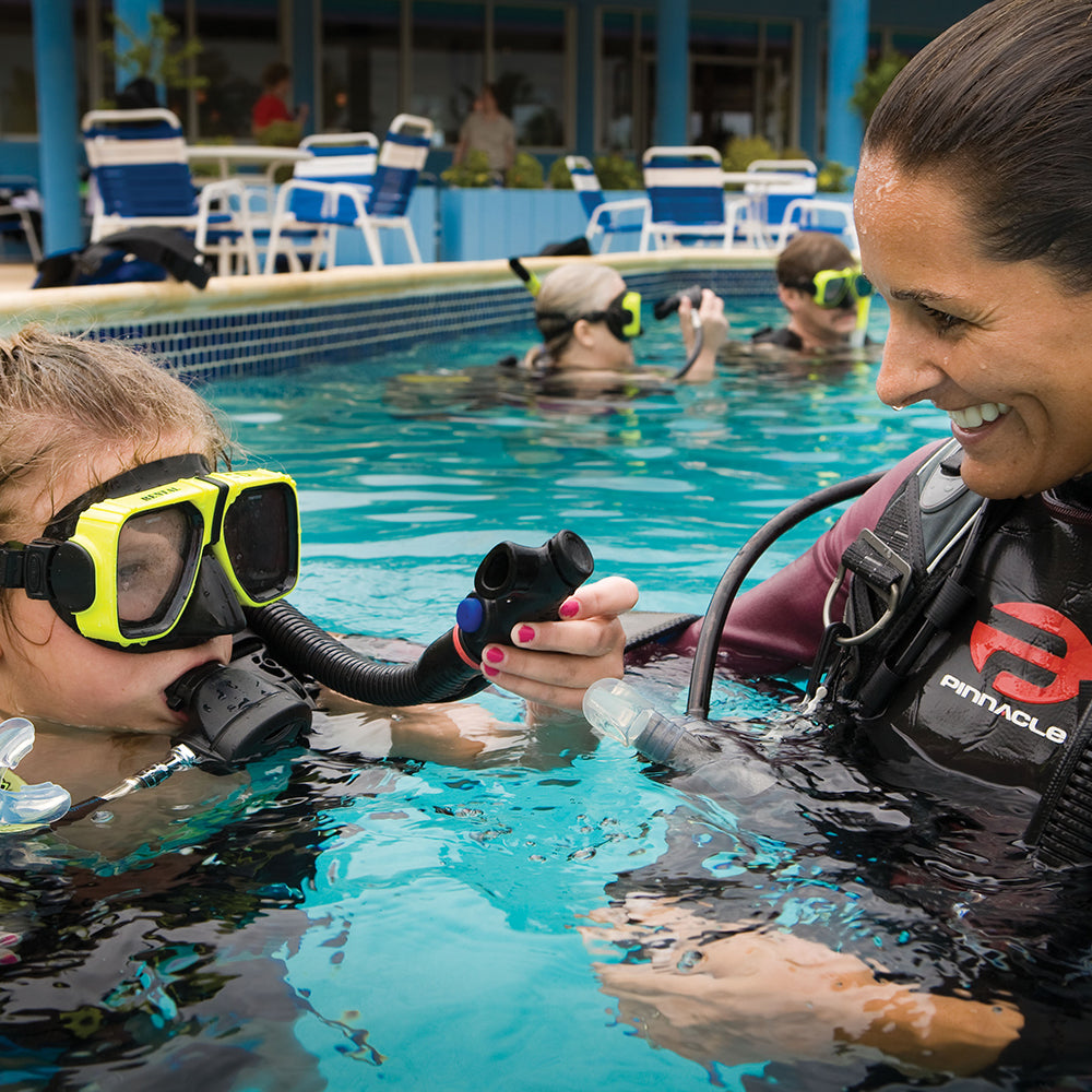 PADI Bubblemaker - Pool Experience