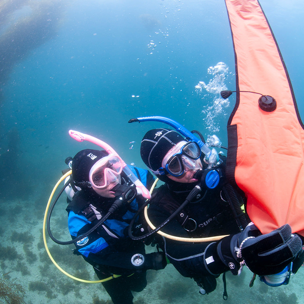 PADI Delayed Surface Marker Buoy Specialty Course