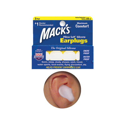 ISC Mack's Adult Ear Plugs