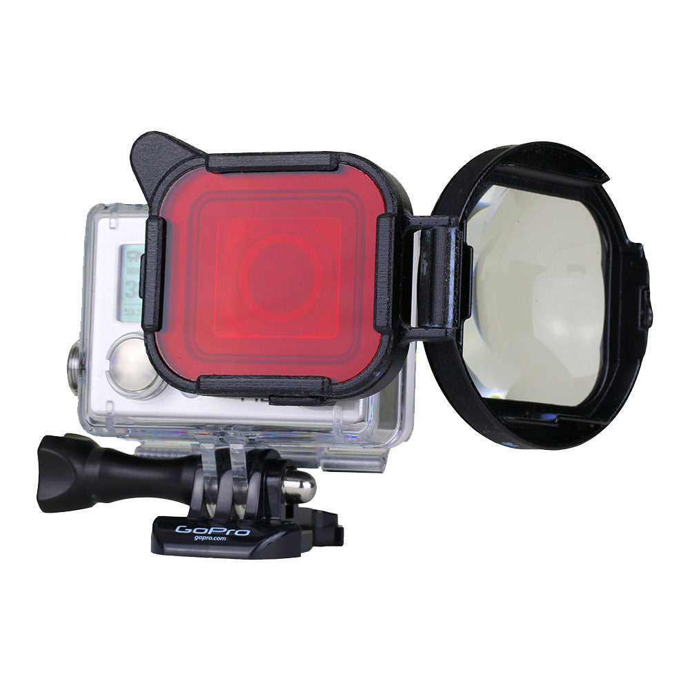 Polar Pro Switchblade Red/Macro Filter for GoPro Hero 4/3+