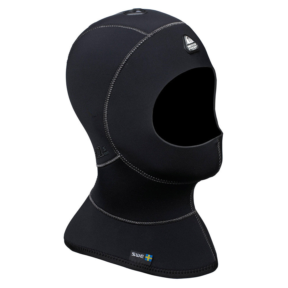 Waterproof H1 3/5mm Hood with Bib