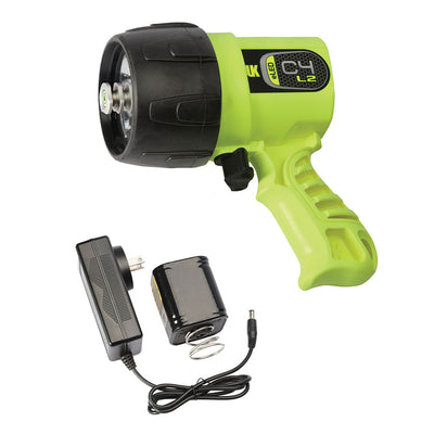 UK C4 eLED Rechargeable Dive Light Yellow