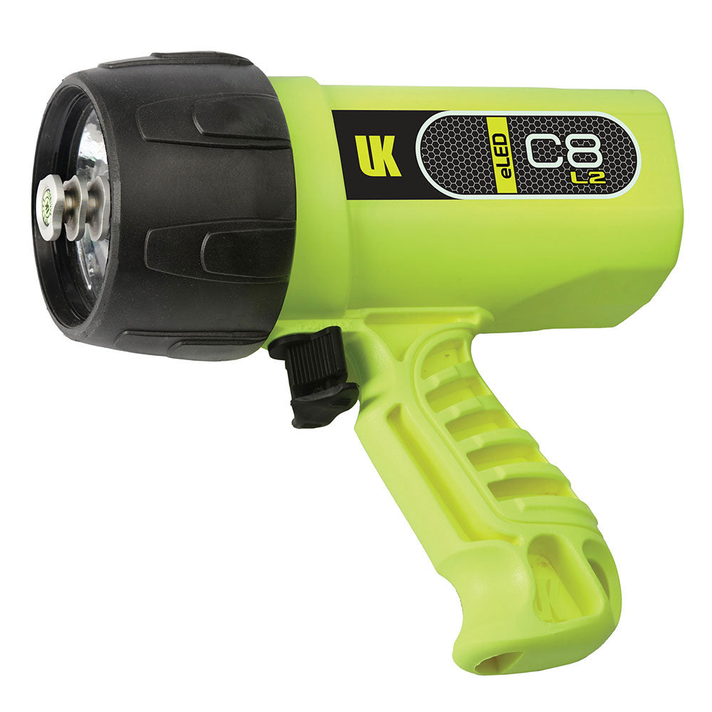 UK C8 eLED Dive Light